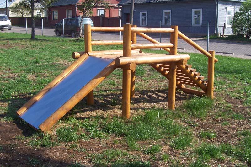 Детская площадка из подручных материалов: 75 фото идей конструкций